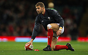 2nd December 2017, Principality Stadium, Cardiff, Wales; Autumn International Rugby Series, Wales versus South Africa; Leigh Halfpenny of Wales warms up before the match
