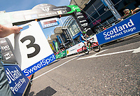 Picture by Allan McKenzie/SWpix.com - 17/05/2018 - Cycling - OVO Energy Tour Series Womens Race - Round 2:Aberdeen - Lapboard, Sweetspot, branding.