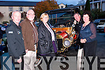 Easy going<br /> -------------<br /> Getting ready for the Kingdom Vintage,Veteran&amp;Classic Car Club annual Autumn run outside the Kenmare Bay hotel last Saturday morning were L-R Paul Horan,Gerry Casey,Trish Horan with Fintan&amp;Kay Foley,all Tralee.