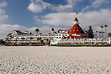 USA, California, San Diego, Coronado Island, Hotel Del Coronado