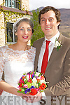 Mairead O'Connor, Lisselton, daughter of Thomas and Anne, John Curtin, Clogheen, Co Cork, son of John and Toinette, who were married in St Theresa Church, Ballydonoghue, on Saturday Fr John Lawlor officiated at the ceremony, best man was Shane O'Flynn, groomsman was Daniel Ryan, bridesmaids were Helen Flaherty and Noreen Kissane the reception was held in the Dunloe Castle Hotel and the couple will reside in Oxford, England