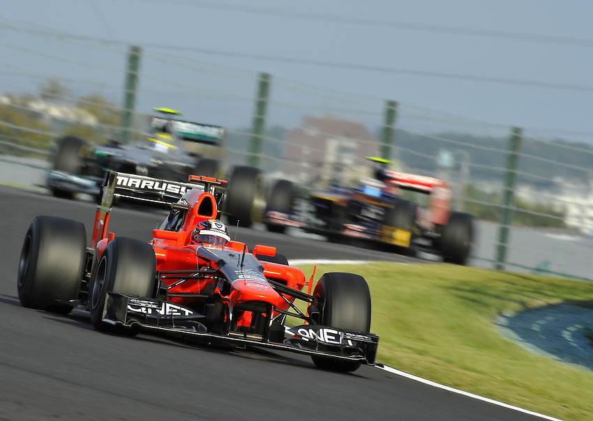 .Timo Glock (GER), Marussia F1 Team  ..2012 FIA Formula One World Championship - Japanese Grand Prix - Suzuka Circuit - Suzuka - Japan - Friday 5th October 2012...