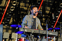 LONDON, ENGLAND - JULY 8: Ben Lovett of 'Mumford &amp; Sons' performing at British Summertime, Hyde Park on July 8, 2016 in London, England.<br /> CAP/MAR<br /> &copy;MAR/Capital Pictures /MediaPunch ***NORTH AND SOUTH AMERICAS ONLY***