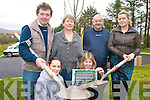 GARDENING: Staff of Comhchoiste Gaeltachta Uibh Ra?thaigh in Cahersiveen who are planning an organic gardening course this month in South Kerry, front l-r: Maire?ad Ni? Mhathu?na, Michea?lli?n Ui? Shu?illeabha?in. Back l-r: Pa?draig O'Breana?in, A?ine Ui Bheola?in, Diarmuid O'Se?, Eimear Ui? Mhurchu?.