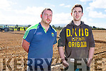 Donal O'Connor (Ballyduff) and Thomas O'Carroll (Causeway) at the Abbeydorney Ploughing on Sunday.