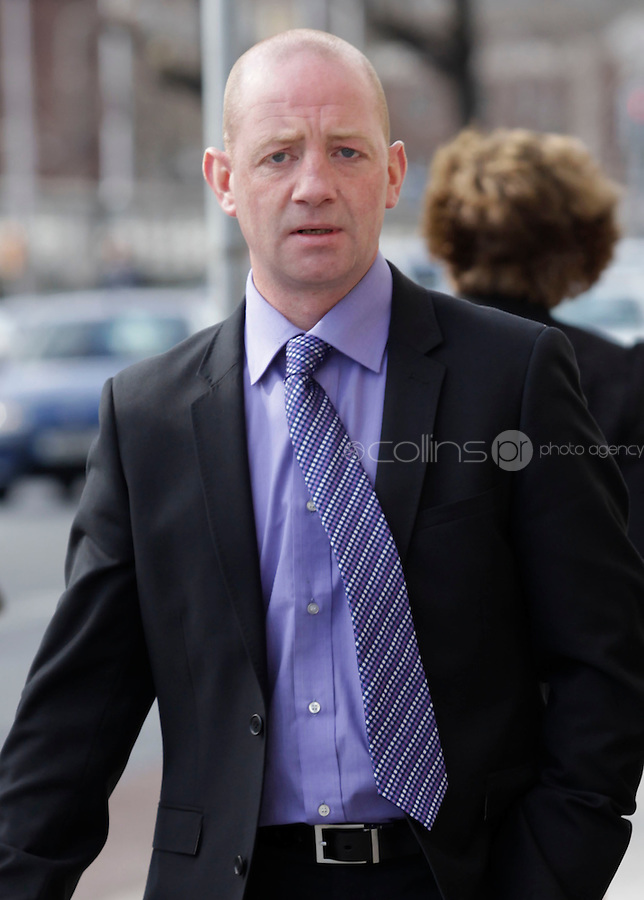 9 March 2011.Keith Dowling, of Kildangan, Co. Kildare, leaving court yesterday(Wed) after he was awarded EUR80,000 damages in the High Court.Pic: Collins Courts