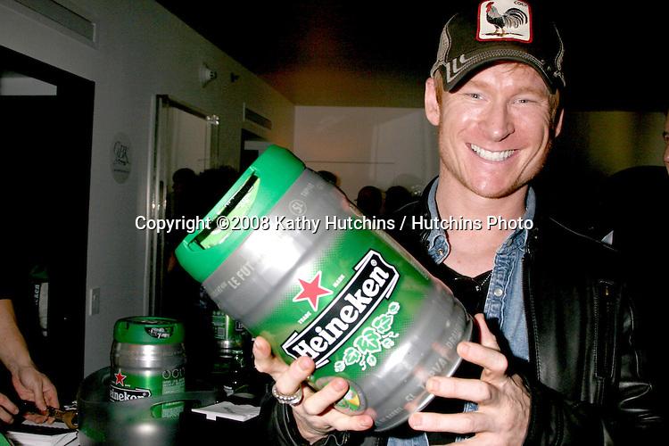 Zach Ward.Heineken.GBK Gifting Suite.Thompson Hotel.Beverly Hills, CA.January 11, 2008.©2008 Kathy Hutchins / Hutchins Photo...