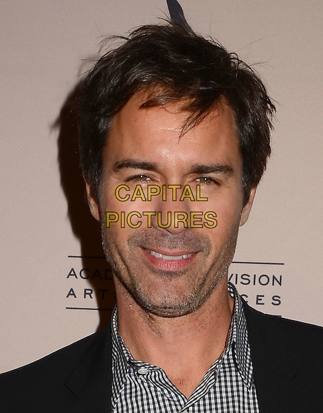 Eric McCormack <br /> The Television Academy presents An Evening Honoring James Burrows at The Academy of Television Arts &amp; Sciences in North Hollywood, California, USA.<br /> October 7th, 2013<br /> headshot portrait stubble facial hair suit back shirt check<br /> CAP/ADM/BT<br /> &copy;Birdie Thompson/AdMedia/Capital Pictures