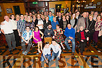 Celebrating their engagement were the happy couple David O'Donoghue from Racecourse Lawn Tralee and Rachel Kinlan from Dundrum Dublin at the Meadowlands Hotel on Saturday night .The happy couple will tie the knot in July 2016