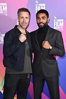 Paddy Considine &amp; Anthony Welsh at the London Film Festival 2017 screening of &quot;Journeyman&quot; at Picturehouse Central, London, UK. <br /> 12 October  2017<br /> Picture: Steve Vas/Featureflash/SilverHub 0208 004 5359 sales@silverhubmedia.com
