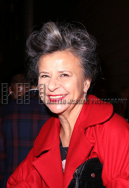 Tracey Ullman attends the Broadway Opening Night Performance of 'On The Town' at the Lyric Theatre on October 16, 2014 in New York City.