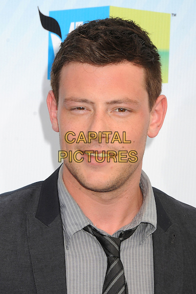 13 July 2013 - Vancouver, British Colombia, Canada - Glee star Cory Monteith was found dead Saturday in his hotel room at the Fairmont Pacific Rim Hotel in Vancouver. He was 31. The cause of death was not immediately apparent. An autopsy was set for Monday. According to police, there were no indications of foul play. They would not discuss what, if anything, was found in room. File Photo: 19 August 2012 - Santa Monica, California - Cory Monteith. 2012 Do Something Awards held at Barker Hangar. <br /> CAP/ADM/BP<br /> &copy;Byron Purvis/AdMedia/Capital Pictures