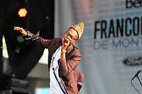 Pierre Kwenders<br /> , Juin 2015<br /> <br /> <br /> PHOTO : Agence Quebec Presse