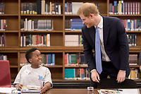 10 July 2017 - London, England - Prince Harry arrives at the London School of Hygiene and Tropical Medicine in Bloomsbury, London where he saw the work being undertaken to combat some of the world's most pressing health issues. Photo Credit: Alpha Press/AdMedia