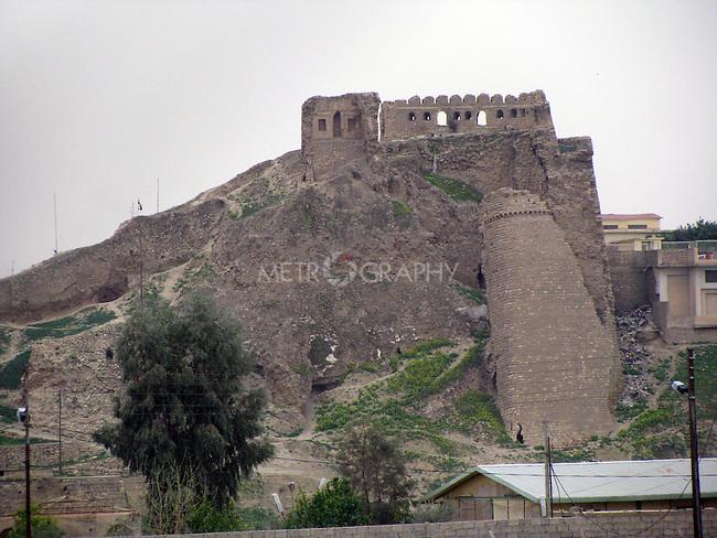 IRAQ, MOSUL:  The Bashthabia Citadel on the Dijla river built by Ahad Sultan Bdradeen Luhluh....Photo by Hakar Said/Metrography