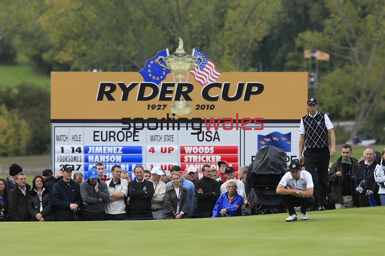 2010 Ryder Cup Matches, Twenty Ten Course, Celtic Manor Resort , City of Newport, Wales. 1- 3 October 2010..Session 2 Foursomes...© Phil INGLIS
