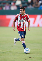 CARSON, CA – SEPTEMBER 19: Chivas USA defender Ante Jazic (6) during a soccer match at Home Depot Center, September 19, 2010 in Carson California. Final score Chivas USA 0, Kansas City Wizards 2.
