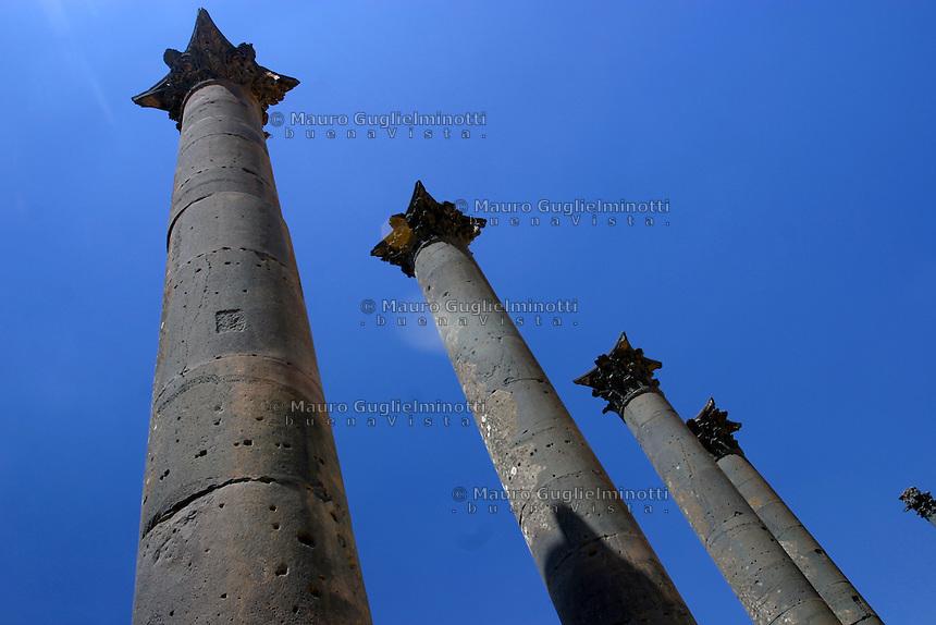SIRIA Bosra  colonne