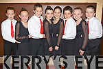 Pictured at the Comhaltas dancing finals in Currow on Sunday were the Kenmare Under 13 dancers were l-r: Cian O'Connor, Emer O'Sullivan, Reinier Offereins, Eimear Palmer, Megan Shea, Diarmuid Foley, Rachel Welton and Jack O'Sullivan.