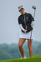 Jessica Korda (USA) watches her tee shot on 3 during round 4 of the KPMG Women's PGA Championship, Hazeltine National, Chaska, Minnesota, USA. 6/23/2019.<br /> Picture: Golffile | Ken Murray<br /> <br /> <br /> All photo usage must carry mandatory copyright credit (© Golffile | Ken Murray)