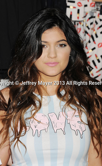 GLENDALE, CA- NOVEMBER 09: TV personality Kylie Jenner attends the launch of the PacSun 'Kendall & Kylie Holiday Collection' at Glendale Galleria on November 9, 2013 in Glendale, California.