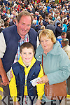 Pictured at Listowel Races on Sunday, from left: Tony O'Doherty, Conor McCann and Helen O'Doherty from Charleville..