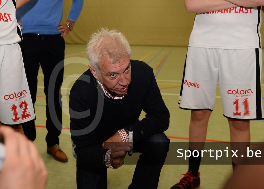DBC Waregem : Marc Foucart <br /> foto VDB / BART VANDENBROUCKE