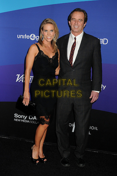27 February 2014 - Culver City, California - Cheryl Hines, Robert F. Kennedy Jr. Unite4:good and Variety Magazine Present &quot;Unite4:humanity&quot; held at Sony Pictures Studios. <br /> CAP/ADM/BP<br /> &copy;Byron Purvis/AdMedia/Capital Pictures