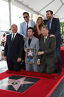 LOS ANGELES - July 26:  Will Arnett, Jennifer Aniston, Ben Allen, Official, Jason Bateman, Leron Gubler at the Jason Bateman Hollywood Walk of Fame Star Ceremony at the Walk of Fame on July 26, 2017 in Hollywood, CA