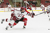 Michael Floodstrand (Harvard - 44) - The Harvard University Crimson defeated the visiting Rensselaer Polytechnic Institute Engineers 5-2 in game 1 of their ECAC quarterfinal series on Friday, March 11, 2016, at Bright-Landry Hockey Center in Boston, Massachusetts.