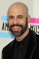 LOS ANGELES, CA - NOVEMBER 24: Chris Daughtry arriving at the 2013 American Music Awards held at Nokia Theatre L.A. Live on November 24, 2013 in Los Angeles, California. (Photo by Celebrity Monitor)