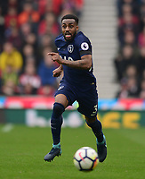Danny Rose of Tottenham in action during the EPL - Premier League match between Chelsea and West Ham United at Stamford Bridge, London, England on 8 April 2018. Photo by PRiME Media Images.