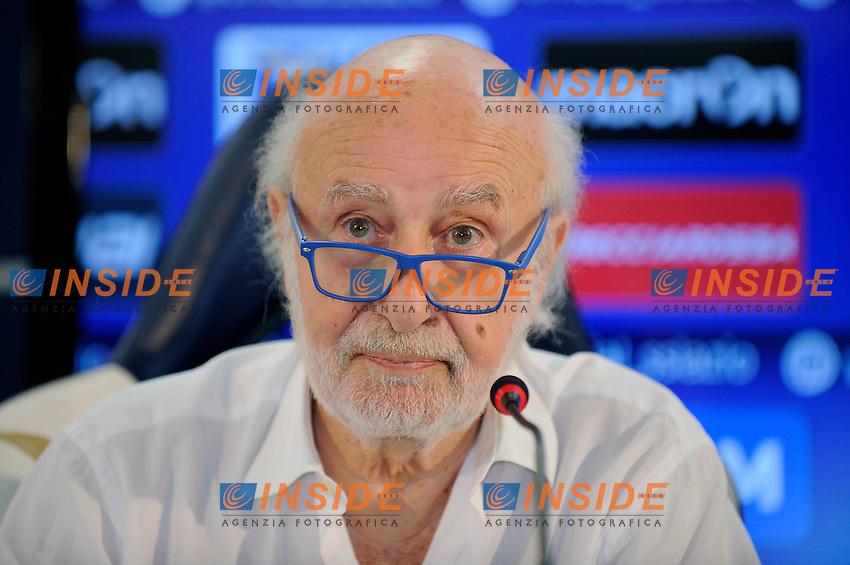 09 07 2016 Roma<br /> Conferenza stampa Lazio su dimissioni Marcelo Bielsa<br /> nella foto Avv. Gian Michele Gentile<br /> Foto Marco Rosi/Fotonotizia/Insidefoto