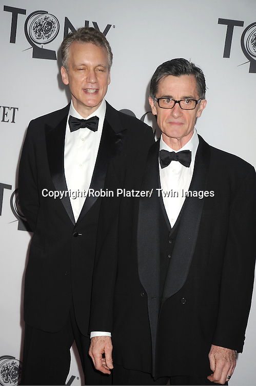 Rick Ellis and husband Roger Rees attends th 66th Annual Tony Awards on June 10, 2012 at The Beacon Theatre in New York City.