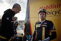 Gerald Ciolek (DEU) post-race<br /> <br /> GP Le Samyn 2014