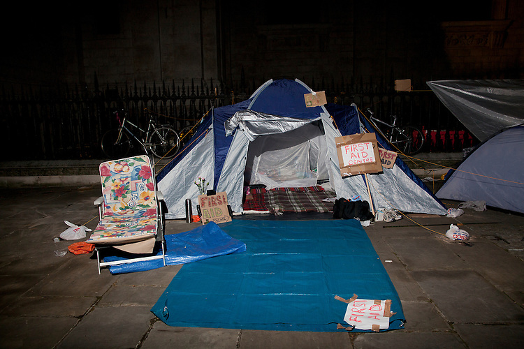 Occupy London. London, October 16th 2011.