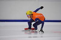 SHORTTRACK: HEERENVEEN: Thialf, Invitation Cup, 01-021011, Freek van der Wart (70), ©foto: Martin de Jong