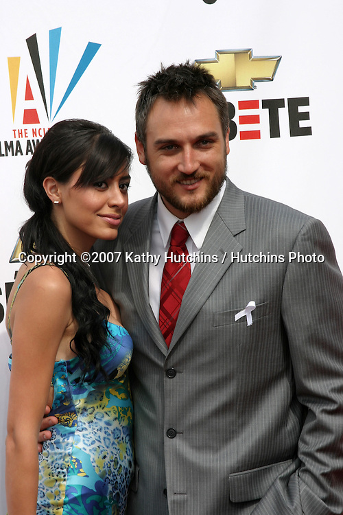 ALEX QUINN & GUEST.ALMA Awards 2007.Pasadena Civic Auditorium.Pasadena, CA.June 1, 2007.©2007 Kathy Hutchins / Hutchins Photo....