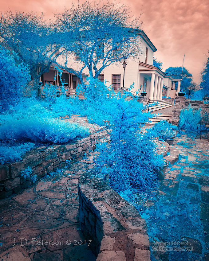 City Hall, Monterey, California (Infrared) &copy;2017 James D Peterson.<br />