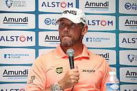 Very happy to make a return to Paris is Lee Westwood (ENG) during the media interviews ahead of the 2015 Alstom Open de France, played at Le Golf National, Saint-Quentin-En-Yvelines, Paris, France. /01/07/2015/. Picture: Golffile | David Lloyd<br /> <br /> All photos usage must carry mandatory copyright credit (&copy; Golffile | David Lloyd)
