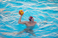 STANFORD, CA - October 9, 2010: Alex Pulido during a water polo game against USC in Stanford, California. Stanford beat USC 5-3.