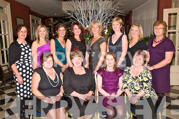 Tarbert National School Staff: Listowel Arms Hotel, Friday night.Maureen Considine, Eileen Kennelly, Amanda O'Sullivan & Kay Diggins,..Back: Rosaline Geoghegan, Siobhan Stack, Catherine Heaphy, Meabh Lawlee, Janet Horan, Margaret Scannell, Deidre McElligott and Mary O,Connell,