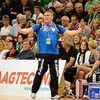 Trainer Dirk Beuchler (TBV) verärgert