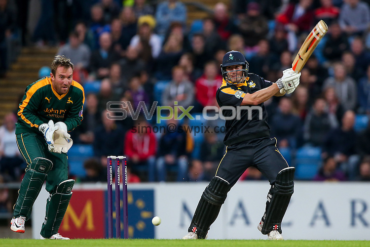 Picture by Alex Whitehead/SWpix.com - 19/06/2015 - Cricket - NatWest T20 Blast - Yorkshire Vikings v Nottinghamshire Outlaws - Headingley Cricket Ground, Leeds, England - Yorkshire's Andrew Hodd.