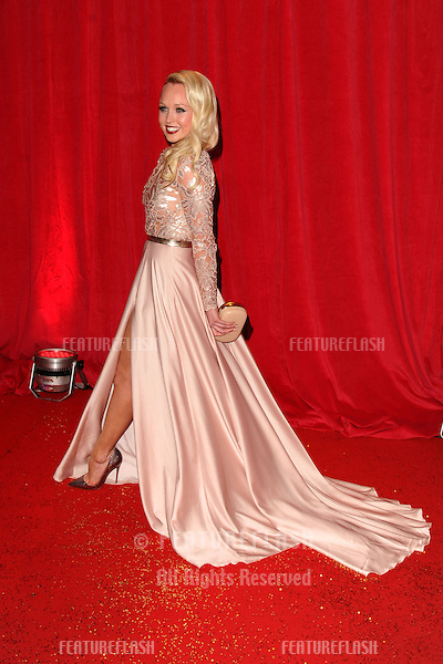 Jorgie Porter arriving for the 2014 British Soap Awards, at the Hackney Empire, London. 24/05/2014 Picture by: Steve Vas / Featureflash
