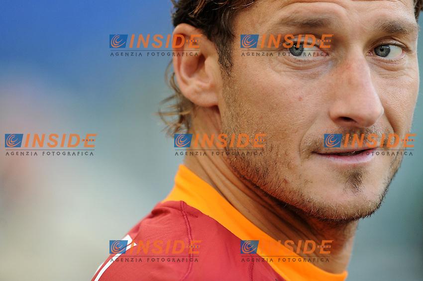 "francesco totti (roma)..Roma 01-10-2011 ""Stadio Olimpico""..Calcio Football Serie A 2011-2012..Roma Atalanta..Foto Insidefoto Massimo Oliva"