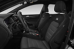 Front seat view of a 2017 Volkswagen Golf R 5 Door Hatchback front seat car photos