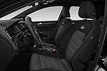 Front seat view of a 2017 Volkswagen Golf R 5 Door Hatchback front seat car photos