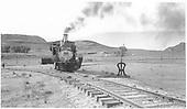 #268 on Sapinero wye.<br /> D&amp;RGW  Sapinero, CO  Taken by Richardson, Robert W. - 7/3/1952