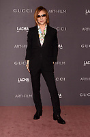 LOS ANGELES, CA - NOVEMBER 04: Yoshiki at the 2017 LACMA Art + Film Gala Honoring Mark Bradford And George Lucas at LACMA on November 4, 2017 in Los Angeles, California. Credit: David Edwards/MediaPunch /NortePhoto.com